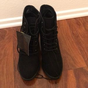 Forever21 Black booties